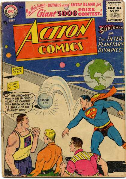 Action Comics 220 - Superman - Earth