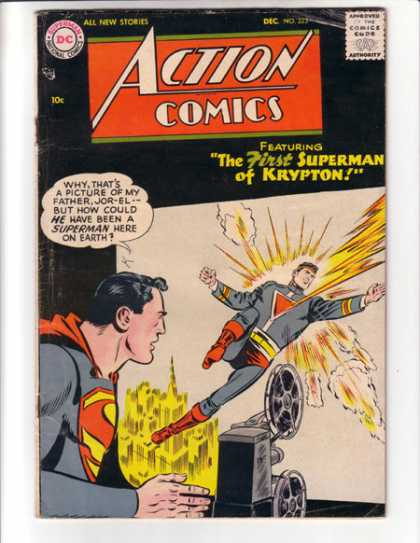 Action Comics 223 - Superman - Jor-el - Krypton - Movie - First