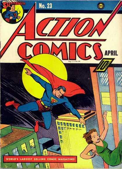 Action Comics 23 - Joe Shuster