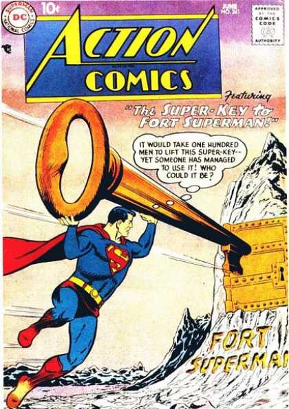 Action Comics 241 - Superman - Curt Swan