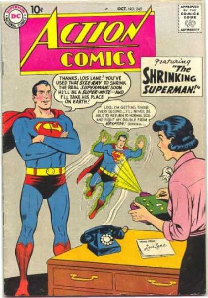 Action Comics 245 - Superman - Curt Swan