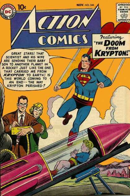 Action Comics 246 - Rocket - Curt Swan