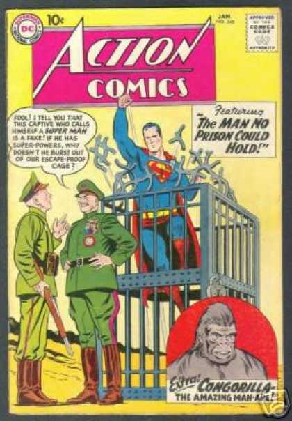 Action Comics 248 - Superman - Gorilla - General - Curt Swan