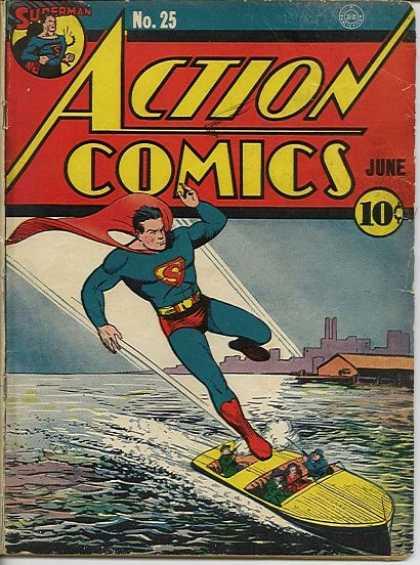 Action Comics 25 - Superman