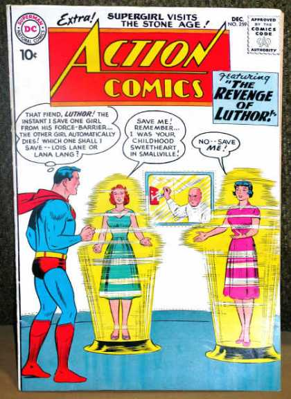 Action Comics 259 - Superman - Luthor - Curt Swan