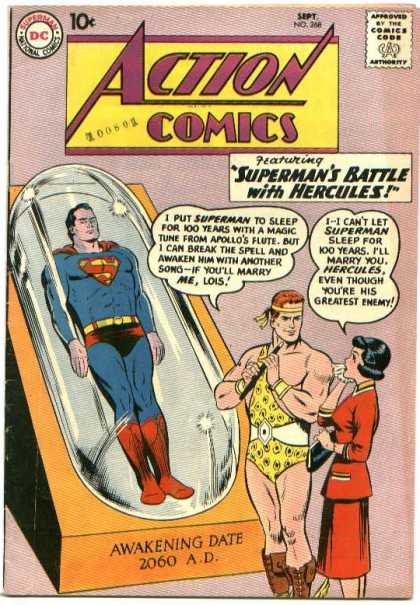 Action Comics 268 - Superman - Hercules - Lois - Lois Lane - Approved By The Comics Code - Curt Swan