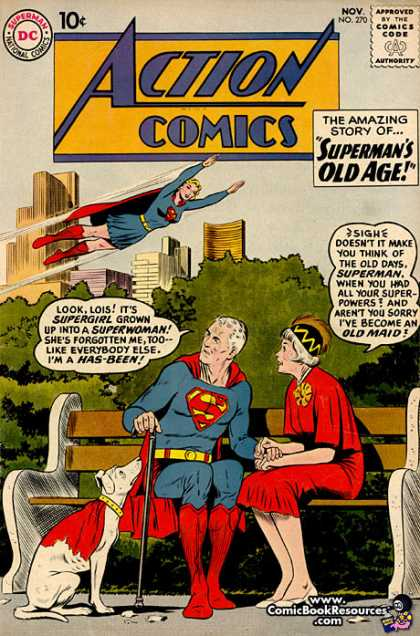 Action Comics 270 - Supergirl - Superman - Curt Swan