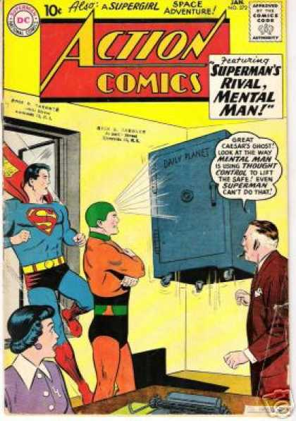 Action Comics 272 - Superman - Safe - Curt Swan