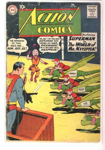 Action Comics 273 - Superman - Racing - Moths - Little People - Mr Mxyzptlk - Curt Swan