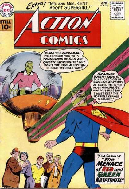 Action Comics 275 - Brainiac - Superman - Curt Swan