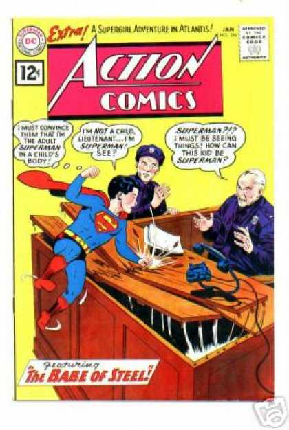 Action Comics 284 - Curt Swan, Sheldon Moldoff
