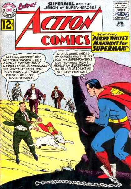 Action Comics 287 - Superman - Perry White - Krypto - Curt Swan, Sheldon Moldoff
