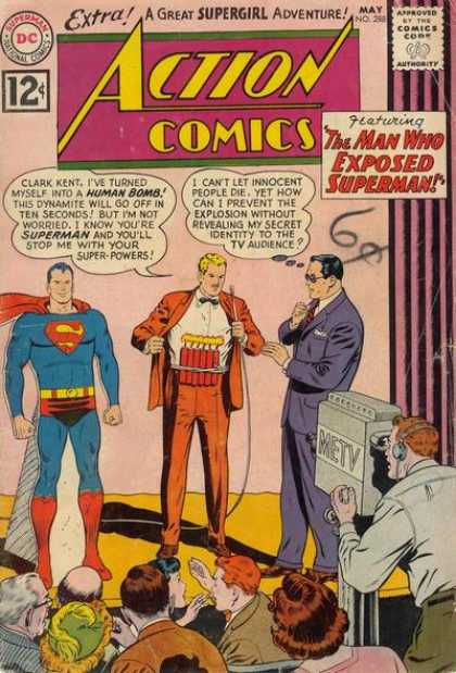 Action Comics 288 - Dynamite - Camera - Curt Swan