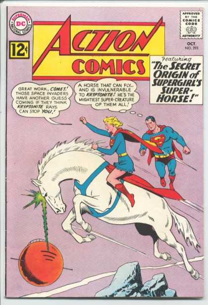 Action Comics 293 - Horse - Unicorn - Supergirl - Curt Swan