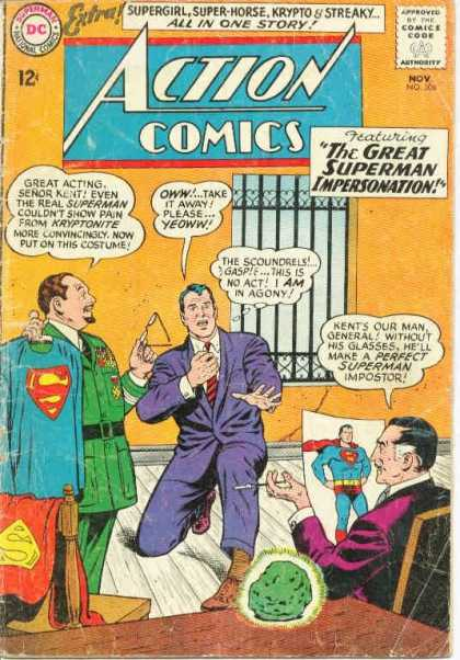 Action Comics 306 - Krypto - Action Comics - The Great Superman Impersonation - Supergirl - Super-horse - Curt Swan