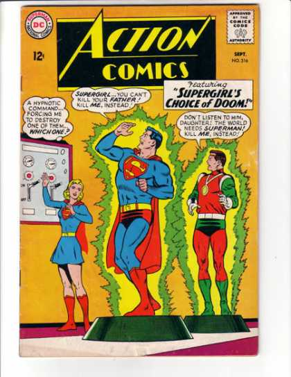 Action Comics 316 - Supergirl - Superman - Lever - Jor-el - Curt Swan