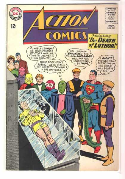 Action Comics 318 - Superman - Wevr - Carva - Dsfvasd - Fcasdf - Curt Swan