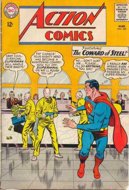 Action Comics 322 - Gun - Superman - Curt Swan