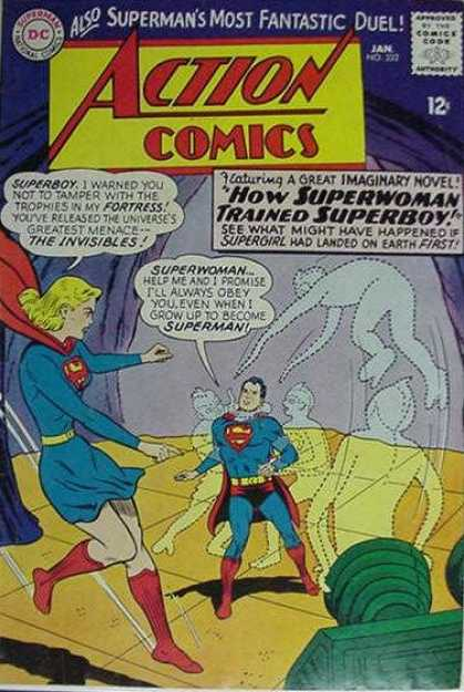 Action Comics 332 - Superman - Supergirl - Superwoman - Curt Swan, Sheldon Moldoff