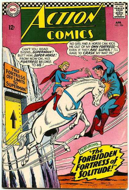 Action Comics 336 - Horse - Curt Swan