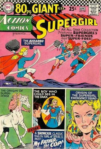 Action Comics 347 - Supergirl - Centaur - Curt Swan