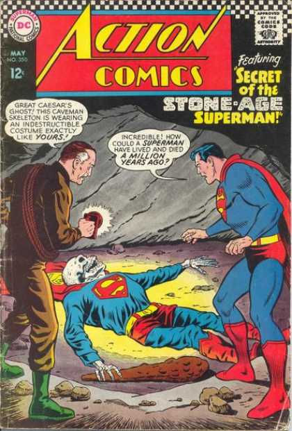Action Comics 350 - Skeleton - Curt Swan