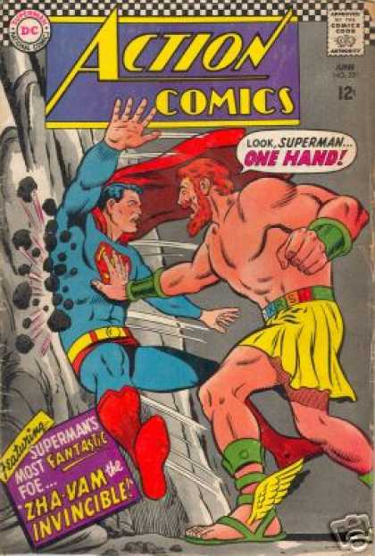 Action Comics 351 - Superman - Hercules - Curt Swan