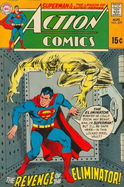 Action Comics 379 - Eliminator - Superman - Vault - Ghost - Legion Of Super-heroes - Curt Swan, Neal Adams