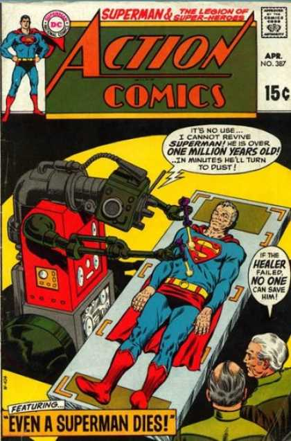 Action Comics 387 - Robot - Superman - Curt Swan, Murphy Anderson