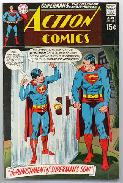 Action Comics 391 - Superman - Kryptonite - Punishment - Supermans Son - Superboy - Curt Swan, Murphy Anderson