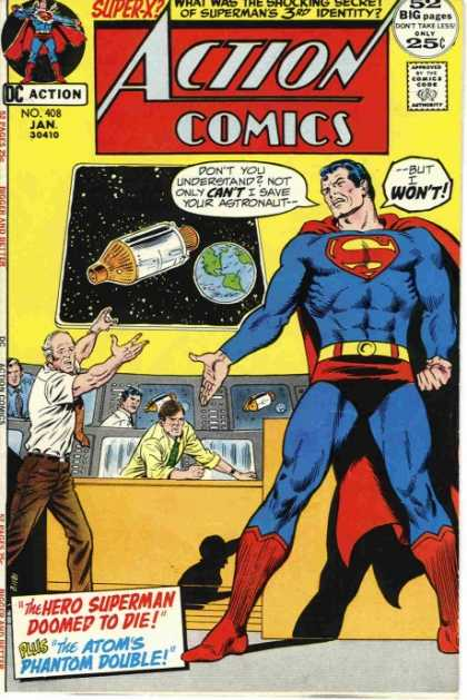 Action Comics 408 - Capsule - Earth - Curt Swan, Murphy Anderson