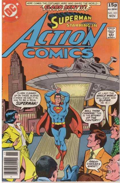 Action Comics 501 - Dick Giordano, Ross Andru
