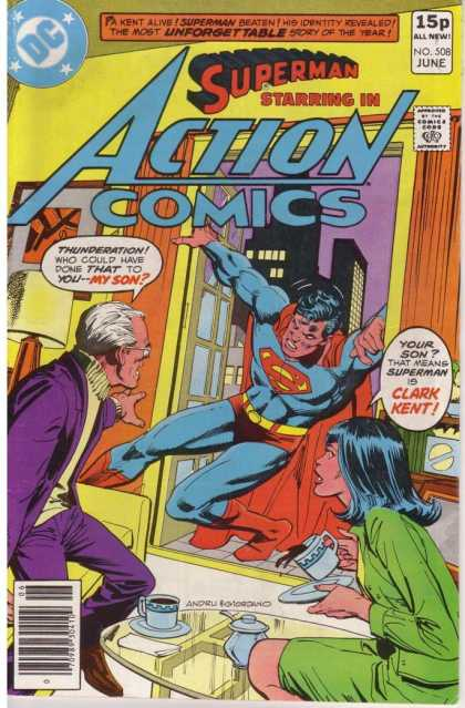 Action Comics 508 - Dick Giordano, Ross Andru