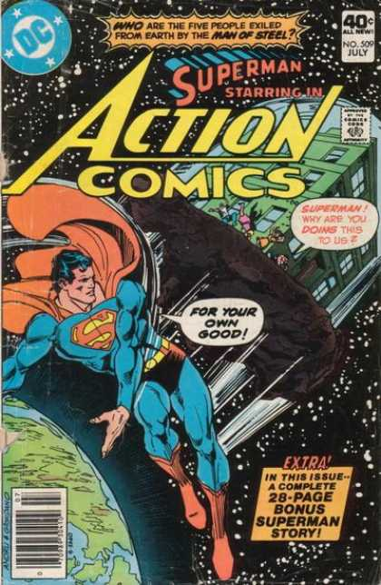 Action Comics 509 - Superman - Space - Dick Giordano, Ross Andru