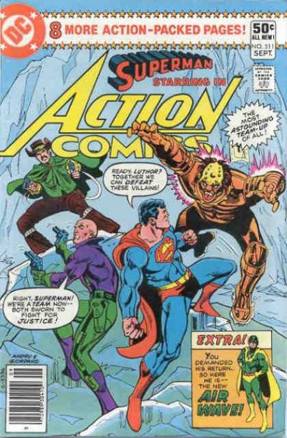 Action Comics 511 - Superman - Dick Giordano, Ross Andru