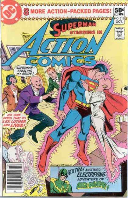 Action Comics 512 - Dick Giordano, Ross Andru