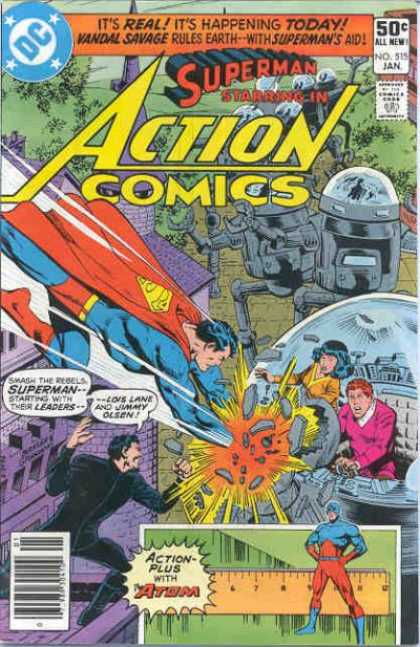 Action Comics 515 - Dick Giordano, Richard Buckler