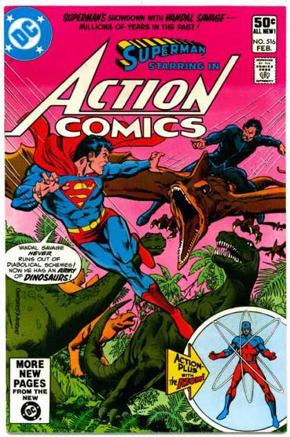 Action Comics 516 - Superman - Atom - Dick Giordano, Richard Buckler