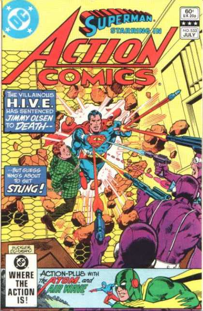 Action Comics 533 - Jimmy Olsen - Superman - Dick Giordano, Richard Buckler