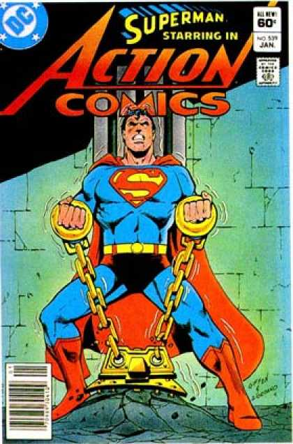 Action Comics 539 - Superman - Dick Giordano, Keith Giffen