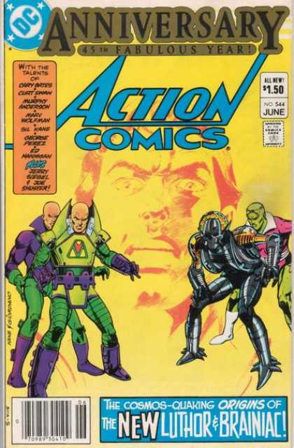 Action Comics 544 - Dick Giordano