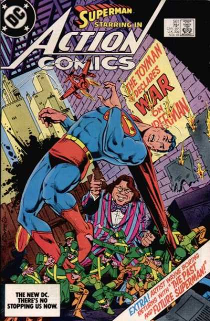 Action Comics 561 - Superman - Toyman - Eduardo Barreto