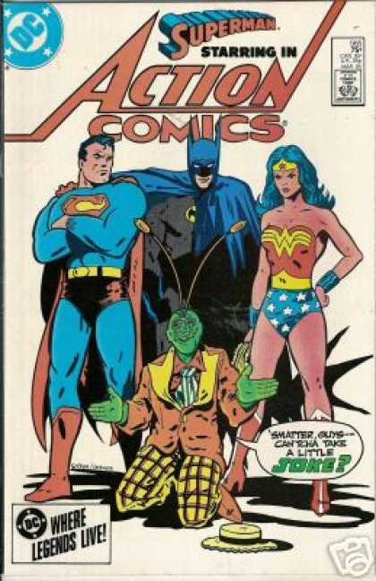 Action Comics 565 - Batman - Wonder Woman - Bob Oksner, Keith Giffen