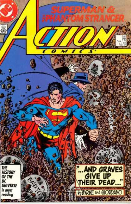 Action Comics 585 - John Byrne