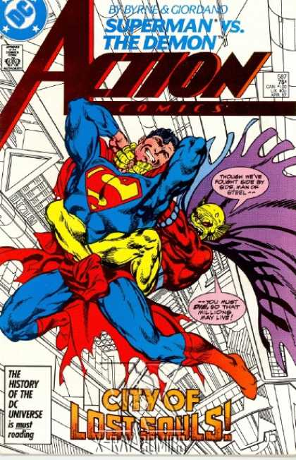 Action Comics 587 - Demon - John Byrne