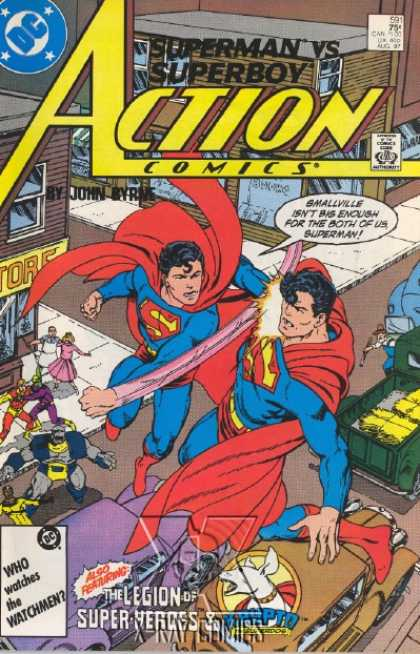 Action Comics 591 - Superboy - John Byrne - Superman - John Byrne