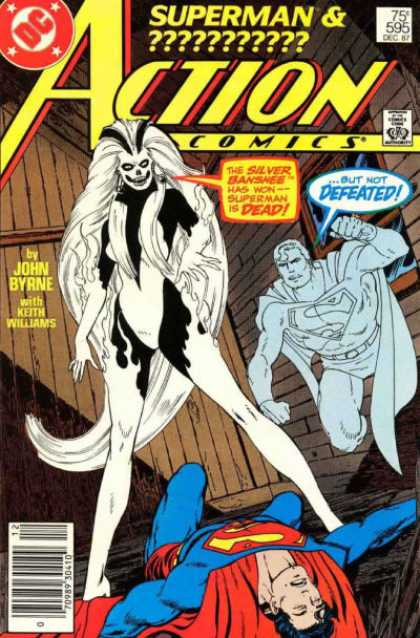 Action Comics 595 - Superman - Silver Banshee - John Byrne - Superman U0026 - Action Comics - John Byrne