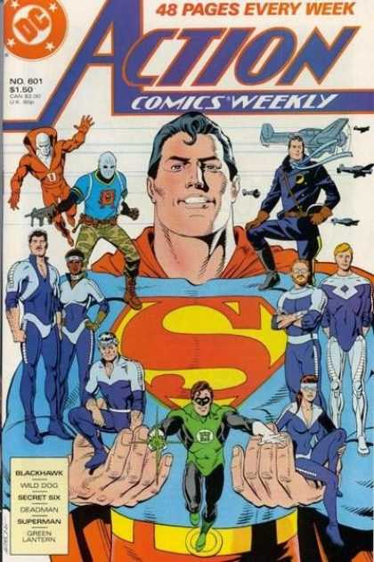 Action Comics 601 - Superman - Deadman - Green Lantern - Dave Gibbons
