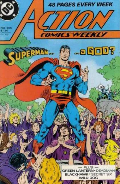 Action Comics 606 - Kerry Gammill