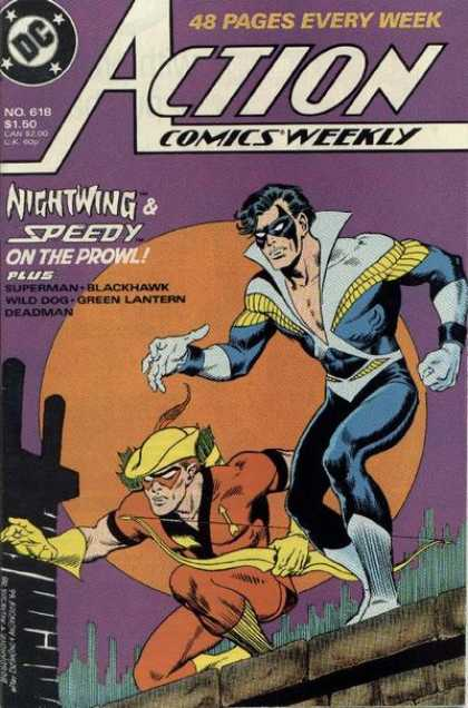 Action Comics 618 - Nightwing - Speedy - Superman - Superhero - Mask - Jon Bogdanove, Murphy Anderson